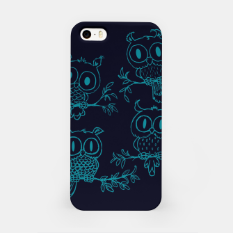 Thumbnail image of Owls in the night iPhone Case, Live Heroes