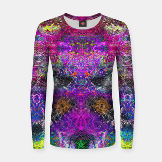 Thumbnail image of Kiss A Wish (abstract) Women sweater, Live Heroes