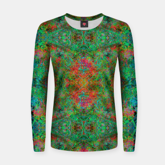 Thumbnail image of Mr. Fire From Ice (abstract) Women sweater, Live Heroes