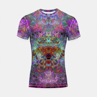 Miniaturka O, The Visions! (abstract, visionary) Shortsleeve rashguard, Live Heroes