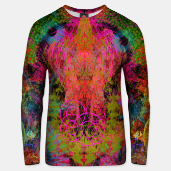 Thumbnail image of The Fire Alchemist (psychedelic, visionary) Unisex sweater, Live Heroes