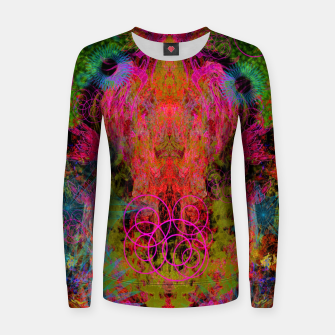 Miniaturka The Fire Alchemist (psychedelic, visionary) Women sweater, Live Heroes