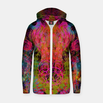 Miniaturka The Fire Alchemist (psychedelic, visionary) Zip up hoodie, Live Heroes
