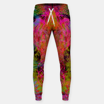 Thumbnail image of The Fire Alchemist (psychedelic, visionary) Sweatpants, Live Heroes