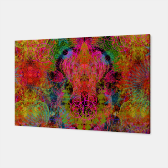 Thumbnail image of The Fire Alchemist (psychedelic, visionary) Canvas, Live Heroes