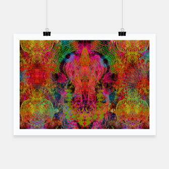 Thumbnail image of The Fire Alchemist (psychedelic, visionary) Poster, Live Heroes
