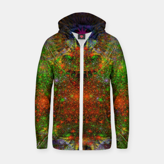 Thumbnail image of Unleashing Iridescent Thoughts Zip up hoodie, Live Heroes