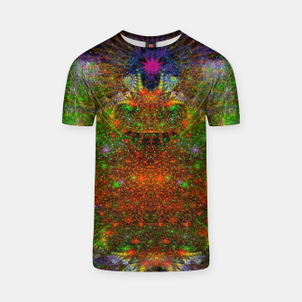 Thumbnail image of Unleashing Iridescent Thoughts T-shirt, Live Heroes