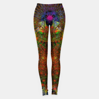 Thumbnail image of Unleashing Iridescent Thoughts Leggings, Live Heroes
