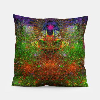 Thumbnail image of Unleashing Iridescent Thoughts Pillow, Live Heroes