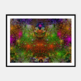 Thumbnail image of Unleashing Iridescent Thoughts Framed poster, Live Heroes