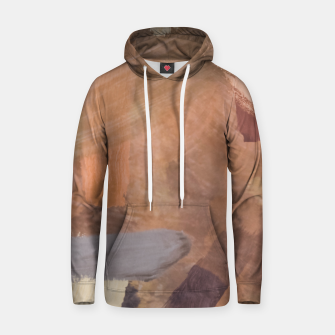 Thumbnail image of brush painting texture abstract background in brown and black Hoodie, Live Heroes