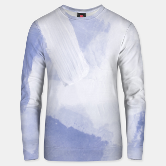 Miniaturka brush painting texture abstract background in grey Unisex sweater, Live Heroes