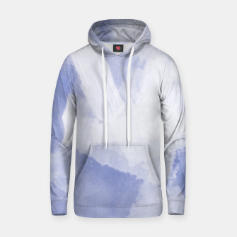 Thumbnail image of brush painting texture abstract background in grey Hoodie, Live Heroes