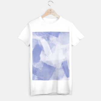 Thumbnail image of brush painting texture abstract background in grey T-shirt regular, Live Heroes