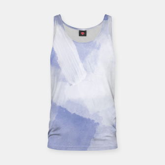 Thumbnail image of brush painting texture abstract background in grey Tank Top, Live Heroes