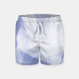 Thumbnail image of brush painting texture abstract background in grey Swim Shorts, Live Heroes
