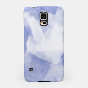 Thumbnail image of brush painting texture abstract background in grey Samsung Case, Live Heroes