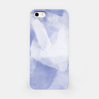 Thumbnail image of brush painting texture abstract background in grey iPhone Case, Live Heroes