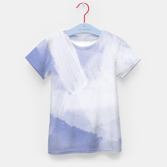 Thumbnail image of brush painting texture abstract background in grey Kid's t-shirt, Live Heroes