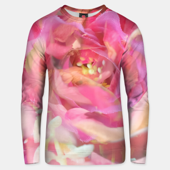 Thumbnail image of blooming pink rose texture abstract background Unisex sweater, Live Heroes