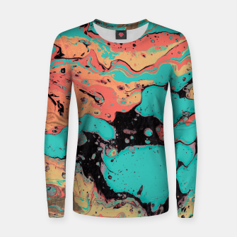 Thumbnail image of Living Coral Mood II Women sweater, Live Heroes