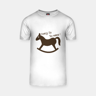 Thumbnail image of PONEY-TOI TOI-MÊME T-shirt, Live Heroes