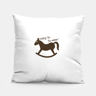 Thumbnail image of PONEY-TOI TOI-MÊME Coussin, Live Heroes