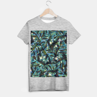 Miniature de image de Monstera Leaves T-shirt regular, Live Heroes