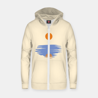 Thumbnail image of Sunrise Zip up hoodie, Live Heroes