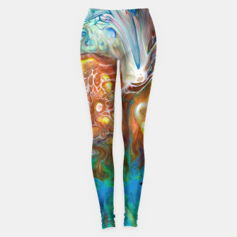 Thumbnail image of Abstract Crossfire Leggings, Live Heroes