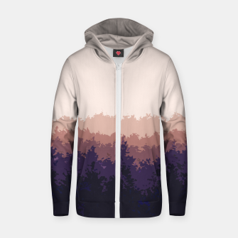 Thumbnail image of Summer Forest Zip up hoodie, Live Heroes