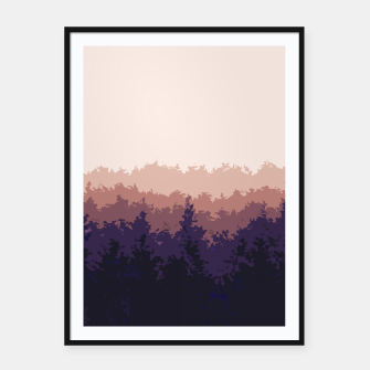 Thumbnail image of Summer Forest Framed poster, Live Heroes