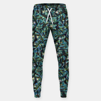Thumbnail image of Monstera Leaves Sweatpants, Live Heroes