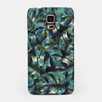 Thumbnail image of Monstera Leaves Samsung Case, Live Heroes