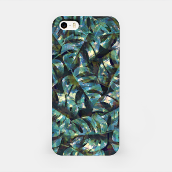 Miniatur Monstera Leaves iPhone Case, Live Heroes