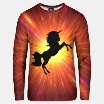 Thumbnail image of Unicorn Unisex sweater, Live Heroes