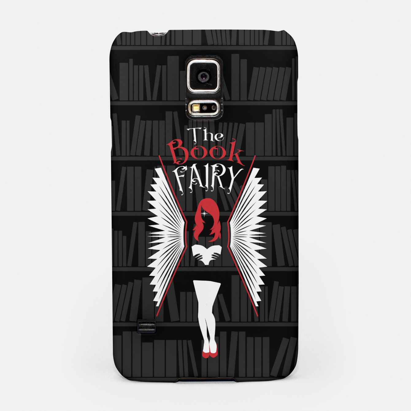 Image of The Book Fairy bookish gift for girls and women Samsung Case - Live Heroes