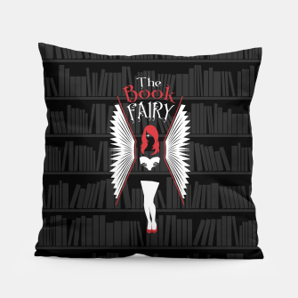 Thumbnail image of The Book Fairy bookish gift for girls and women Pillow, Live Heroes