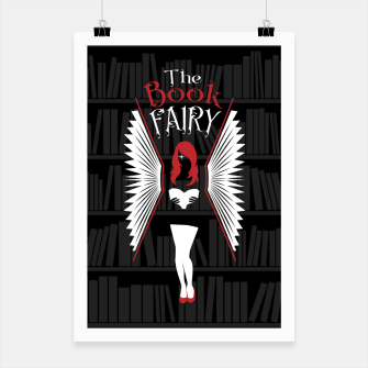 Thumbnail image of The Book Fairy bookish gift for girls and women Poster, Live Heroes