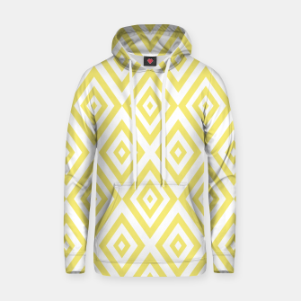 Miniaturka Abstract geometric pattern - gold and white. Hoodie, Live Heroes