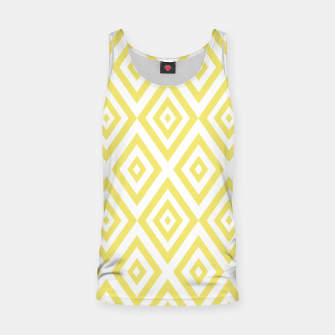 Thumbnail image of Abstract geometric pattern - gold and white. Tank Top, Live Heroes
