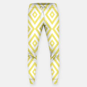 Thumbnail image of Abstract geometric pattern - gold and white. Sweatpants, Live Heroes