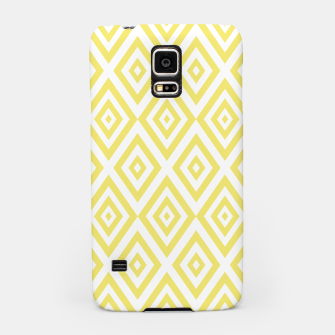 Thumbnail image of Abstract geometric pattern - gold and white. Samsung Case, Live Heroes