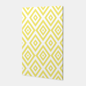 Miniaturka Abstract geometric pattern - gold and white. Canvas, Live Heroes