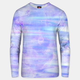 Thumbnail image of Cute purple falaxy Unisex sweater, Live Heroes