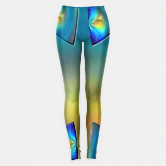 Miniatur Eye Tricks 4/4 Leggings, Live Heroes