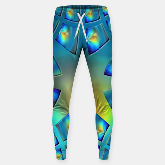 Thumbnail image of Eye Tricks 4/4 Sweatpants, Live Heroes