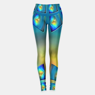 Thumbnail image of Eye Tricks 4/4 Leggings, Live Heroes