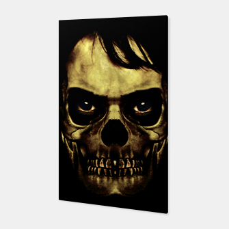 Thumbnail image of Angry Skull Monster Poster Canvas, Live Heroes